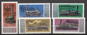 Russia - Soviet Union - 1979 Locomotives Sc# 4734/4736 - MNH (808N)