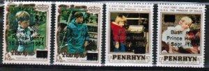 Penrhyn Island - 1984 Birth of Prince Henry - MNH