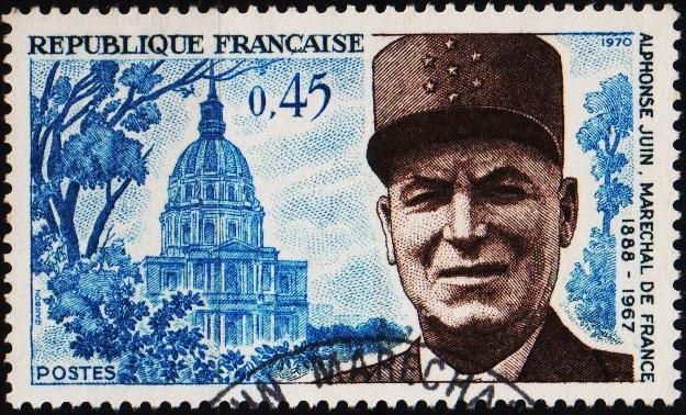 France. 1970 45c S.G.1864 Fine Used