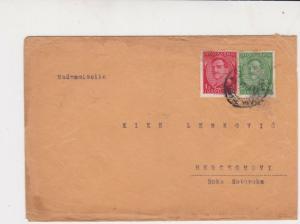 Yugoslavia 1932 King of Yugoslavia Stamps Cover Ref 29700