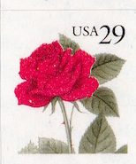 United States #2490 Red Rose Booklet single MNH, Please see the description.