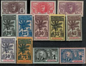 Senegal 1906 SC 57-72 Mint/MNH SCV $377.00 Set