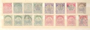 BERMUDA  LOT OF MINT HINGED, NEVER HINGED AND USED FANTASTIC CLEAN STAMPS