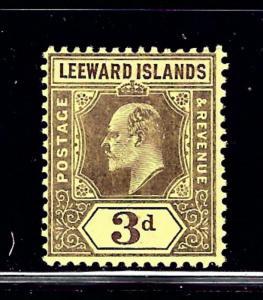 Leeward Is 34 MLH 1910 issue