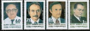 2010 TURKISH CYPRUS - TURKISH PROMINENT PERSONS  - UMM STAMPS