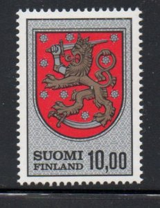 Finland Sc 470 1974 10m Arms of Gustav Vasa stamp mint NH