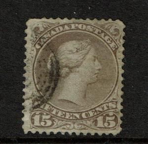 Canada SC# 29b Used / Red Lilac - S5476