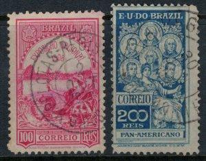 Brazil #189,91  CV $3.25