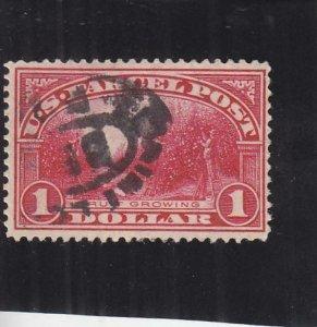 1913, $1.00 Fruit Growing, Used, Sc #Q12, Cat. $40.00 (S16308)