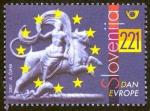 Slovenia Sc# 455 MNH 2001 Europe Day