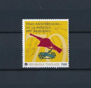 [80840] Togo 2012 Second World war Ardennes offensive Belgium MNH