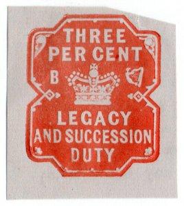 (I.B) QV Revenue : Ireland Legacy & Succession Duty 3%