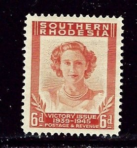 Southern Rhodesia 70 MH 1947 issue    (ap2723)