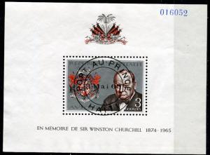 Haiti 1968; Sc. # C323; O/Used CTO Souvenir Sheet