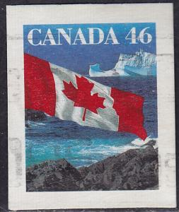 Canada 1698 USED 1998 Flag Over Iceburg 46
