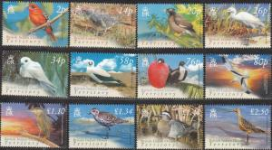 2004 BIOT Scott 274-285 Birds MNH