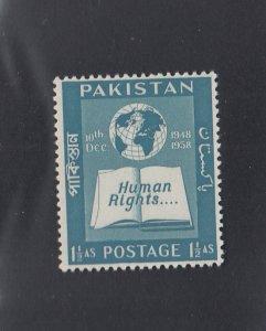 Pakistan Scott #99 MH