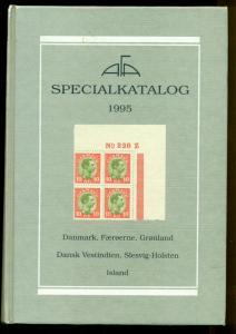 SCANDINAVIA SPECIALKATALOG 1995, hard covered catalog