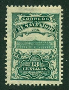 El Salvador 1911 #399 MH SCV (2020) = $0.25