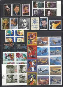 US 2005 Commemorative Year Set with 43 Stamps MNH