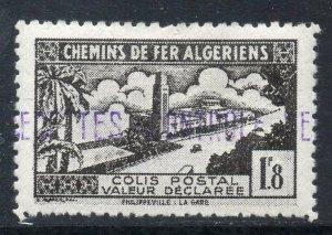 Algeria: 1941-2 Railway Parcels 1.8 Fr. My. 98 mint