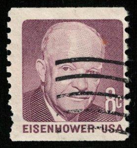 EISENHOWER, 8 cents, USA, SC #1395 (T-6842)