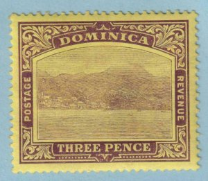 DOMINICA 40a  MINT NEVER HINGED OG ** NO FAULTS EXTRA FINE!