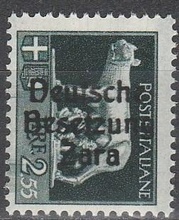 Germany Zara Occupation #Mi 13ii  MNH (K84)
