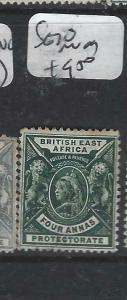 BRITISH EAST AFRICA   (P3105B)  QV     LIONS  4A     SG 70   MOG
