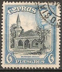 Cyprus #150 F-VF Used (ST496)
