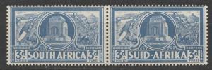 SOUTH AFRICA 1938 VOORTREKKER 3D PAIR MNH **