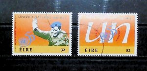 Ireland 1995 50th Anniv of United Nations Used Full Set A22P20F9040