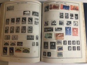 The New Enlarged Ambassador Stamp Album Lots Of Stamps