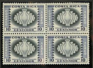 Costa Rica C228 Block of 4 Mint VF NH