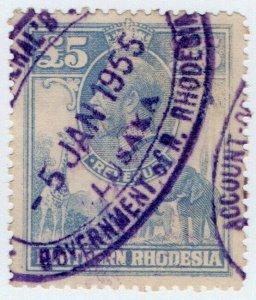 (I.B) Northern Rhodesia Revenue : Duty Stamp £5