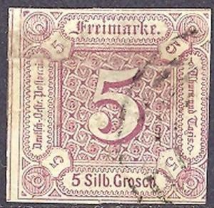Thurn & Taxis  #13  used  Cat $400