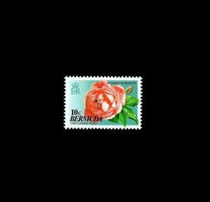 BERMUDA - 1993 - ROSE - BEE - FLOWER - BRABANT - MINT - MNH SINGLE!