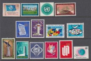 UN Geneva 1-14 MNH VF