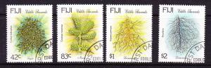 FIJI 1994 EDIBLE SEAWEED SET 4 FU CTO