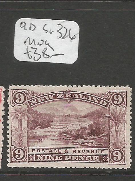 New Zealand SG 9D, 326 MOG (5cpr)