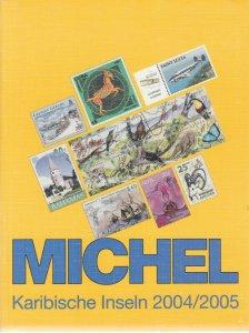 Michel Karabische Inseln 2004/2005, priced stamp catalog for Caribbean Islands