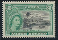 North Borneo SG 389 SC# 278   Mount Kinabalu  MNH see details