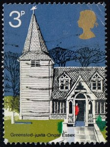 Great Britain #671 St. Andrew's Church; Used (0.25)