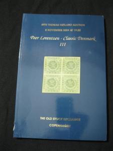 THOMAS HOILAND AUCTION CATALOGUE 2004 CLASSIC DENMARK III 'LORENTZEN' COLLECTION