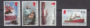 J26585  jlstamps 2000 Br antarctic terr set mnh #289-92 ships
