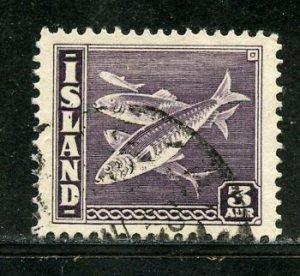 Iceland # 218, Used. CV $ 1.25
