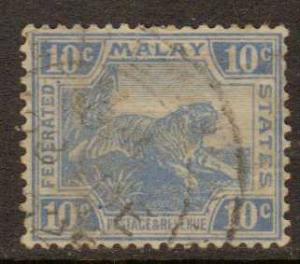 Malaya Federation  #62  used  (1923)  c.v. $7.75