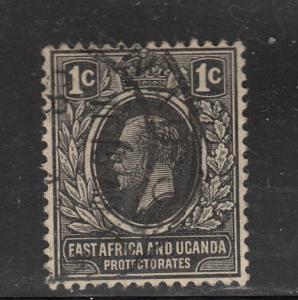 East Africa and Uganda Protectorates #40 Used