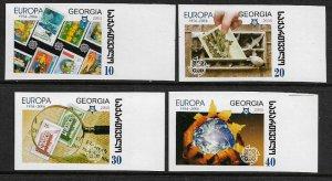 Georgia #390-3 MNH IMP Set - Europa Stamps 50th Anniversary