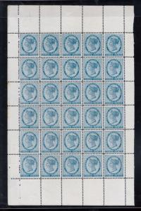 Prince Edward Island #6 Very Fine+ Never Hinged Rare Sheet Of Thirty W\ Variety